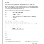 Half-term Pre Grading and Weapons Course
